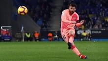 Messi Soal Tendangan Bebas Mematikan: Itu Cuma Beruntung