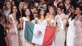 FOTO: Semringah Model Meksiko Raih Miss World 2018