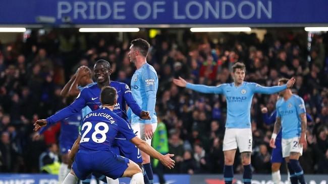 FOTO: Chelsea Hancurkan Rekor Man City di Liga Inggris