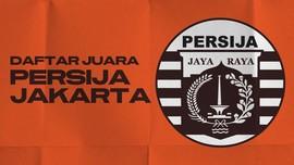 INFOGRAFIS: Persija 11 Kali Juara Liga Indonesia