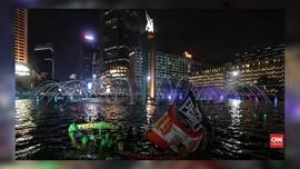 VIDEO: Persija Juara, The Jakmania 'Kuasai' Ibu Kota