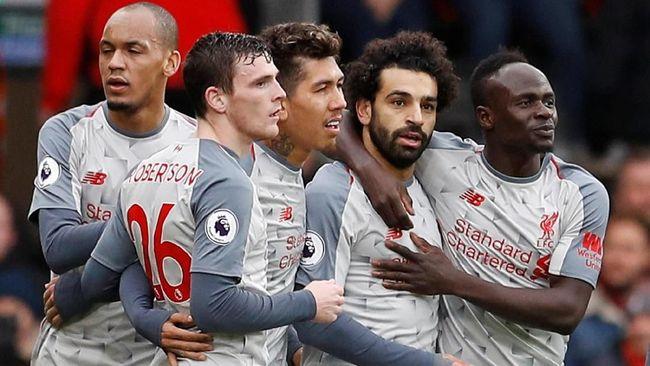 Klasemen Liga Inggris: Liverpool Kudeta Manchester City