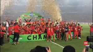 VIDEO: Detik-detik Perayaan Persija Juara Liga 1 2018