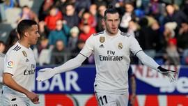 Bale Bawa Real Madrid Unggul atas Huesca di Babak Pertama