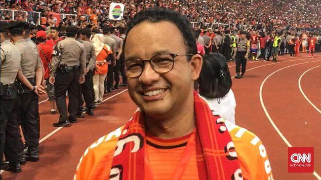 Anies Sebut Perayaan Persija Juara Bakal Mirip Pesta Rakyat