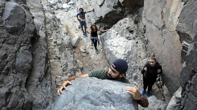 Pendiri Gouna Mountain Goats, Sytze Boomsma, mengatakan ia tidak menyadari apa yang ia jalani selama 13 terakhir bisa membawa tebing Gouna menjadi destinasi wisata baru.