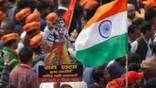 Demonstran India Desak Bangun Kuil di Atas Reruntuhan Masjid