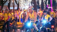 VIDEO: Raja Thailand Pimpin Gowes Sepeda Massal