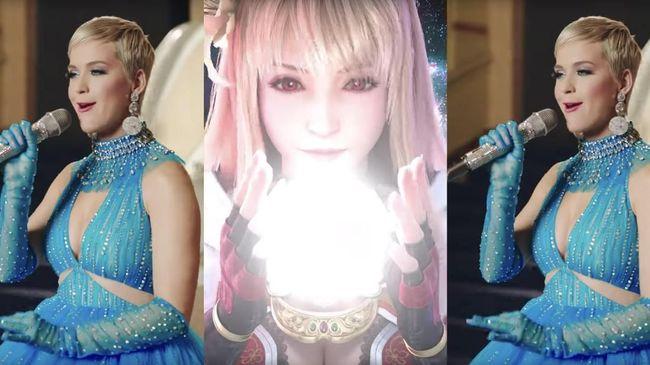Evolusi Katy Perry Jadi Karakter Video Game 'Final Fantasy'