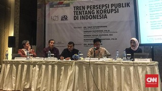 Survei LSI-ICW: Potensi Pungli Paling Tinggi di Kepolisian