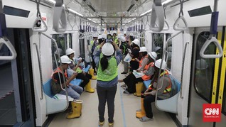 MRT Jakarta Kaji Rencana Kereta Khusus Wanita