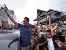 Mau Stock Split, Saham Emiten Milik Sandiaga Ini Dilego Asing