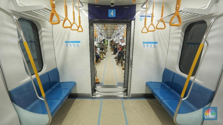 Mengintip Jeroan MRT Jakarta Sebelum Beroperasi Maret 2019
