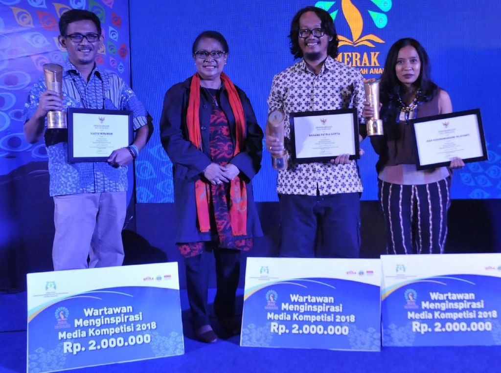 Malam Penganugerahan Piala Media Ramah Anak