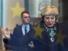 Brexit Ditunda, PM Theresa May: Inggris Harus Keluar dari UE