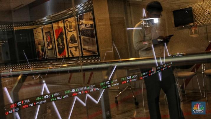 Ilustrasi Bursa Efek Indonesia (CNBC Indonesia/Andrean Kristianto)