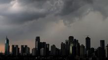 BMKG Sebut Jakarta Siaga Hujan Lebat Hari Ini