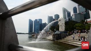 Perang Dagang, Ekonomi Singapura Anjlok