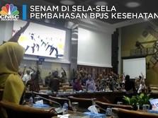 Video: Pusing Rapat BPJS Kesehatan, Anggota DPR Senam Bareng