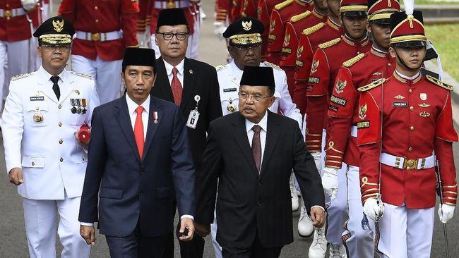 Jokowi Minta Menteri Amankan Pangan saat Natal dan Tahun Baru