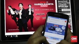 Orang Indonesia Habiskan 15 Persen Gaji untuk Belanja Online