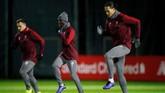 Keberhasilan Liverpool jadi pemuncak klasemen Liga Inggris jadi motivasi tambahan The Reds untuk percaya diri menghadapi Napoli. (Reuters/Carl Recine)