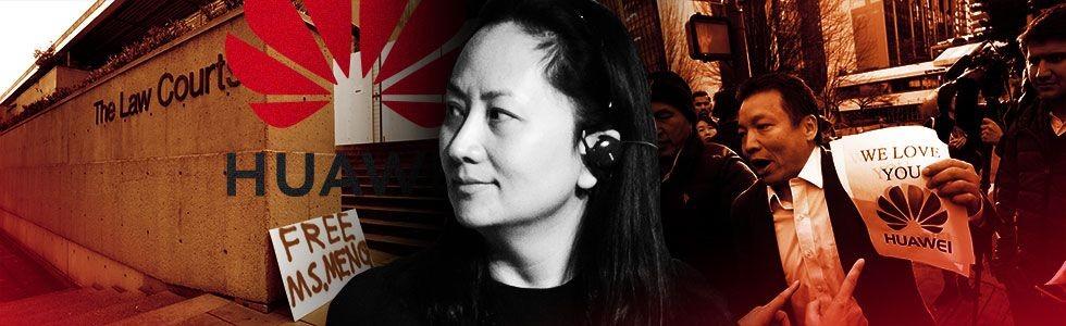 Jerat Hukum Bos Huawei