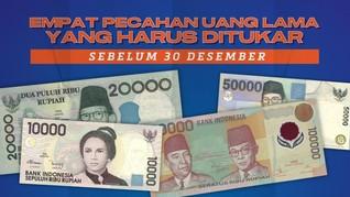 Empat Uang Kertas Lama yang Harus Ditukar Sebelum 30 Desember