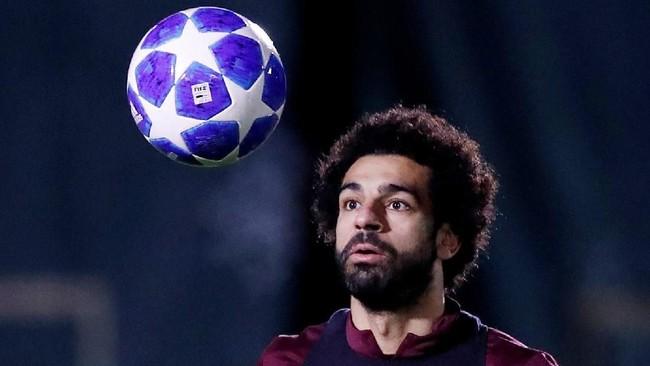 Mohamed Salah juga dalam kondisi bagus lantaran baru saja mencetak hattrick di Liga Inggris akhir pekan lalu. (Reuters/Carl Recine)