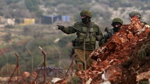 FOTO: Israel Hancurkan Terowongan Penyusup Hizbullah