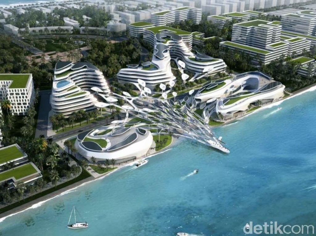 Begini Penampakan Kota Masa Depan di Maladewa