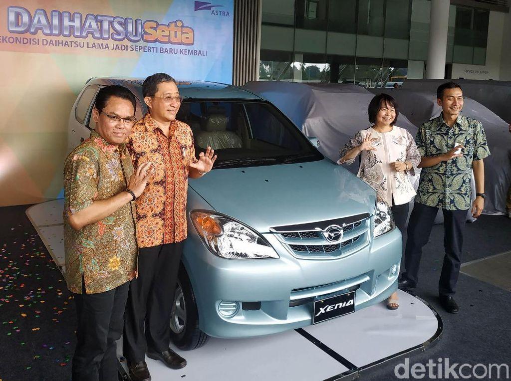Daihatsu Sulap 20 Mobil Lama jadi Seperti Baru Lagi