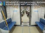Perkenalkan Ratangga, Nama Baru MRT Jakarta