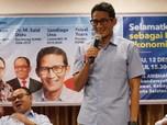 Sandiaga Uno Bicara Soal Ahok Calon Pemimpin Ibu Kota Baru