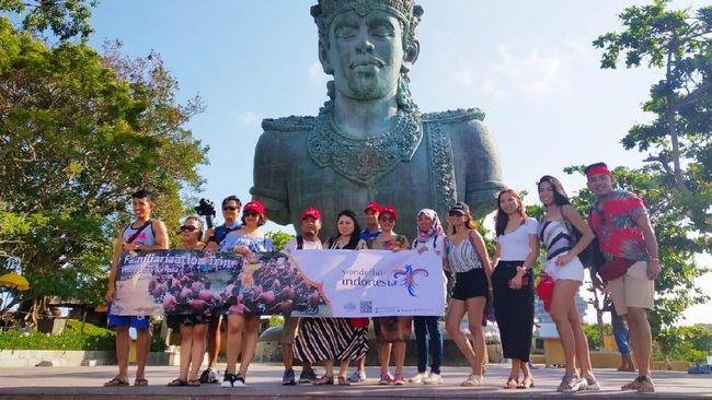 Kala Vlogger dan Travel Agent Filipina Terpincut Pesona Bali