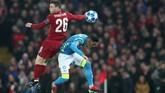 Liverpool menghadapi Napoli dalam matchday keenam Liga Champions. (REUTERS/Jon Super)