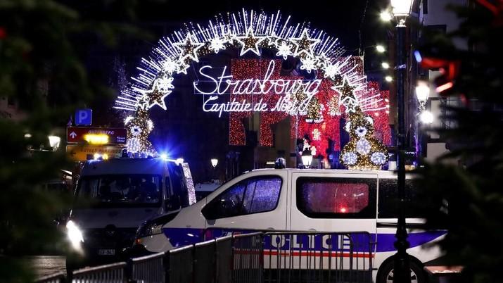 Penembakan di Pasar Natal Prancis Tewaskan 3 Orang