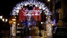FOTO: Pasar Natal Berdarah Akibat Penembakan di Prancis