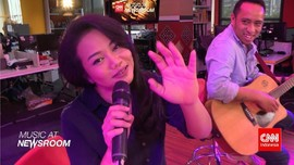 Music at Newsroom: Yura Yunita - 'Buka Hati'