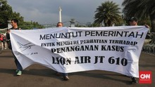 Keluarga Korban Minta Jokowi Desak Lion Air Beri Keadilian
