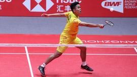 Anthony Ginting Lolos ke Babak 16 Besar Malaysia Masters