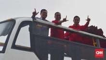 Bus Transjakarta Disiapkan untuk Pawai Persija Juara