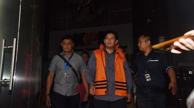 KPK Tahan Kakak Ipar Bupati Cianjur di Polres Jaktim