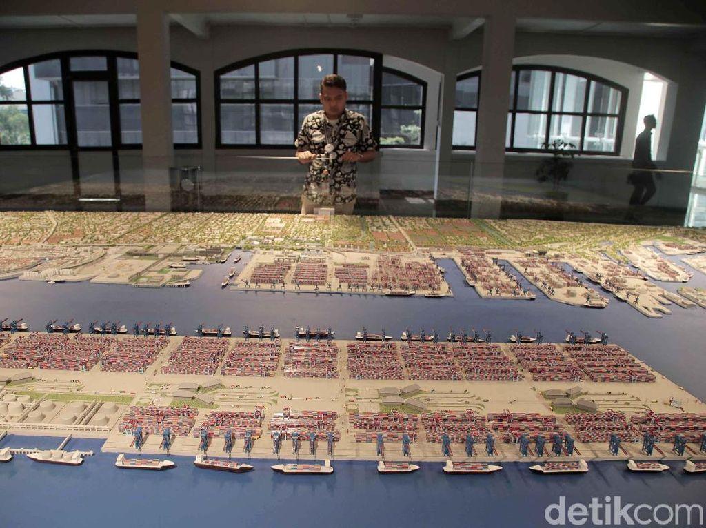 Museum maritim tersebut berlokasi tepat di kawasan komplek IPC Pelabuhan Tanjung Priok, Jakarta Utara.