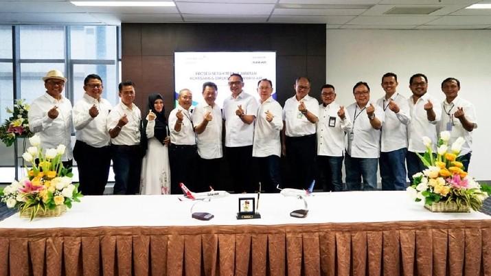 Personel Garuda Indonesia Masuk Jajaran Direksi Sriwijaya Air