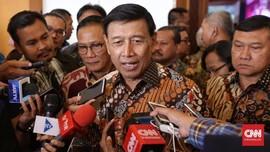 Nihil Komplain, Wiranto Klaim Penanganan Karhutla Sukses