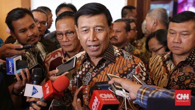 Wiranto Sebut Oknum Demokrat dan PDIP Dalang Kasus Bendera