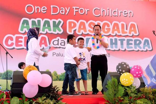 Pemulihan Trauma untuk Anak-anak Pasigala