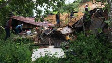 Bersihkan Material Longsor Tobasa, Satu Korban Masih Dicari