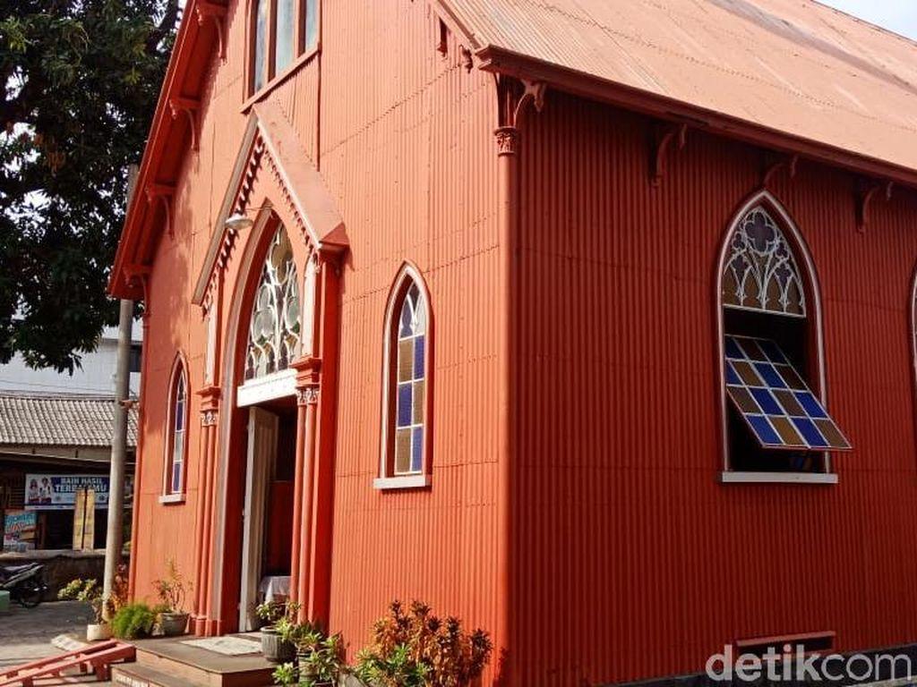 Foto: Gereja Bongkar Pasang yang Konon Cuma 2 di Dunia